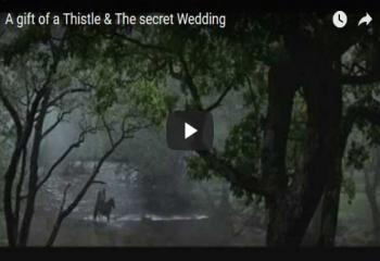 A gift of a Thistle & The secret Wedding